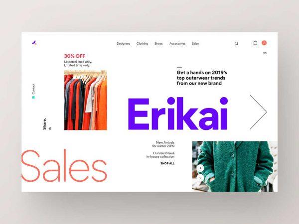 طراحی رابط کاربری سایت